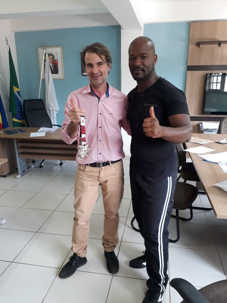 Na última semana o prefeito Décio Santos, recebeu em seu gabinete, as visitas dos lutadores Cocaienses, Gustavo Ferreira e Luciano Damázio, vencedores no Campeonato Mineiro de Taekwondo, etapa disputada em […]