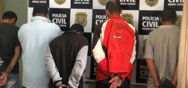 Com objetivo de diminuir a incidência de crimes violentos em Itabira ecumprir medidas cautelares decretadas judicialmente, a Polícia Civil desencadeou uma operação na madrugada dessa quarta-feira (17) e prendeu cinco […]